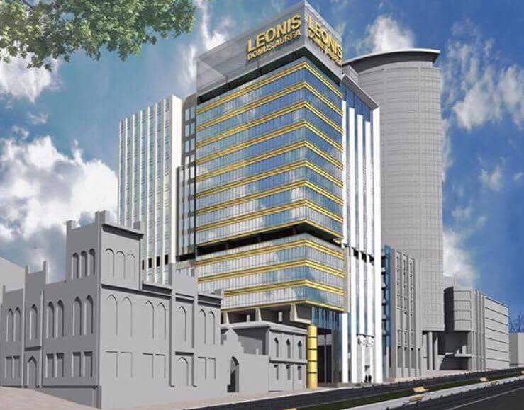 Проект нового офісно-готельного комплексу Leonis // Фото з Фейсбук-сторінки Олени Терещенко