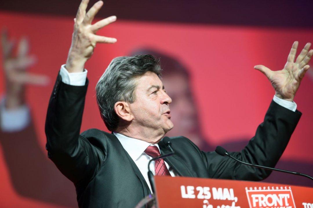 Лідер «нескорених» Жан-Люк Меланшон