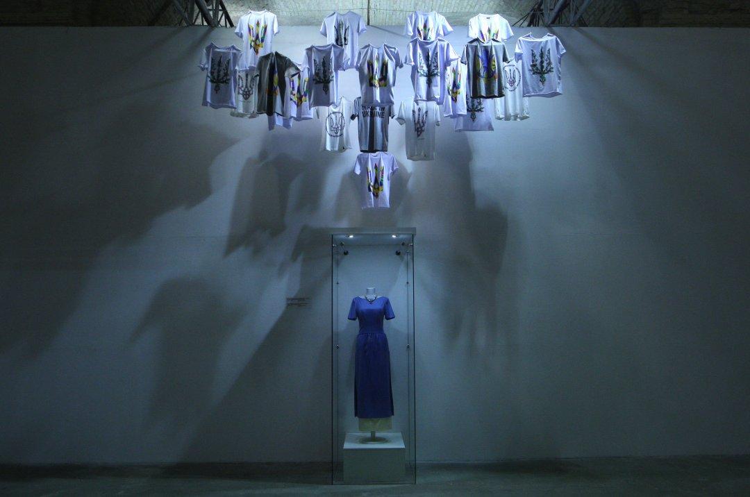 Інавгураційна сукня Марини Порошенко, Першої леді // Фото: Данило Шамкін