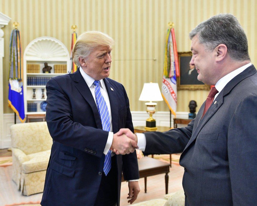 Трамп, Порошенко