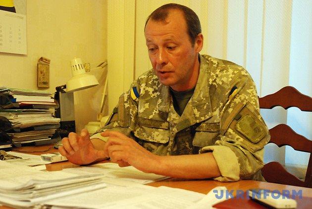 Начальник навчального відділу ВІТІ полковник В'ячеслав Пестряк