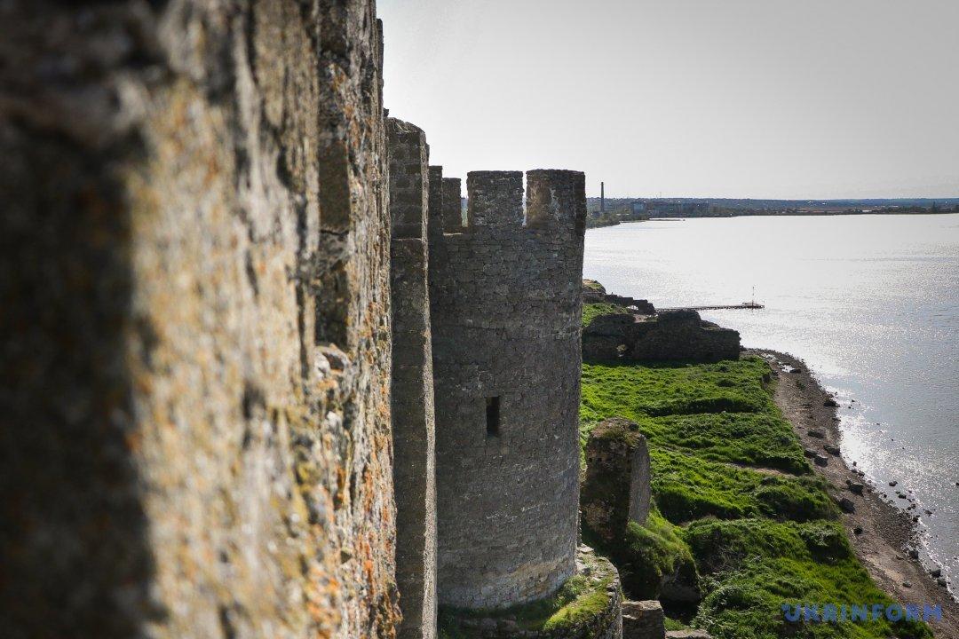 Краєвид, що відкривається з мурів фортеці