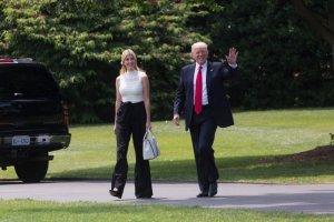 Трамп заявляє, що його донька Іванка створила 14 мільйонів робочих місць