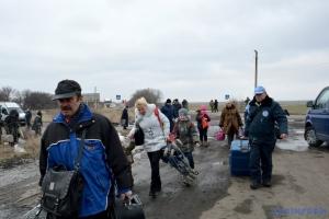В Украине на учете - почти 1,5 миллиона переселенцев