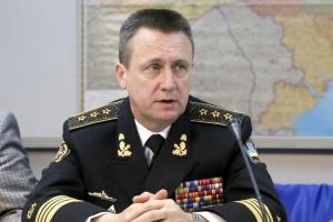 Росія нарощує військову присутність на кордонах України і в окупованому Криму - адмірал ВМС