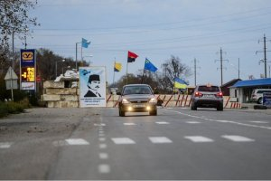 На админгранице с Крымом спокойно — пограничники