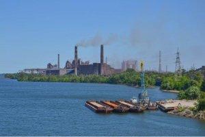 В Украине растут объемы перевозок по Днепру