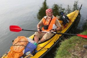 Днепровский путешественник планирует преодолеть 4 тыс. км на каяке
