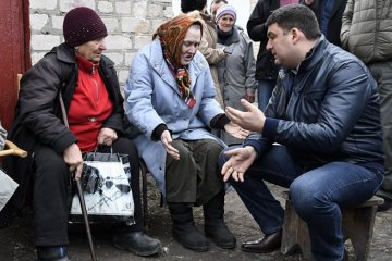 Ukraine to recalculate pensions automatically for first time - Groysman