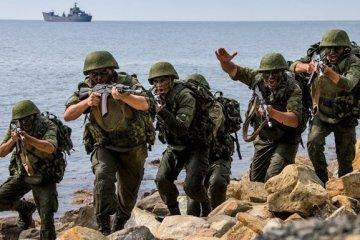 Militärmanöver: Russland verlegt Marineinfanterie der Kaspischen Flottille auf die Krim