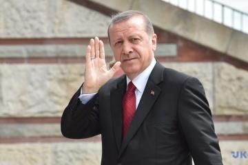 Türkischer Präsident Erdogan kommt zu Staatsbesuch in Ukraine