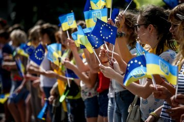 Over 60% of Ukrainians back Ukraine's accession to EU