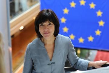 La eurodiputada Harms va a Ucrania