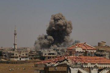 Авіація Асада бомбардує південний захід Сирії, є жертви