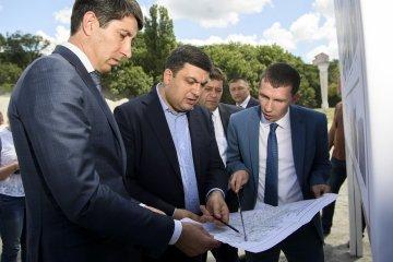 Hrojsman verspricht gute Straßen in der gesamten Ukraine in 5 bis 7 Jahren