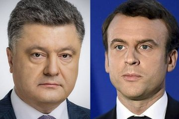 Poroshenko to meet with Macron in Paris on June 26
