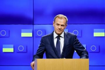 Tusk pogratulował Zełenskiemu - UE nadal będzie wspierać Ukrainę