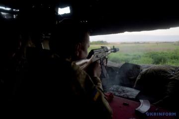 Les attaques des combattants pro-russes sont concentrées dans le secteur de Donetsk