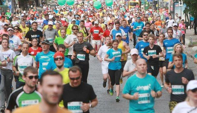 Le 8 octobre Kyiv accueillera un marathon international pour la 8e fois