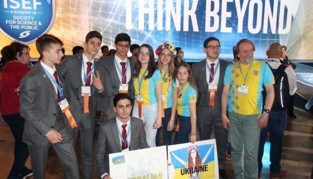 乌克兰女生获得美国国际科学家竞赛第四名
