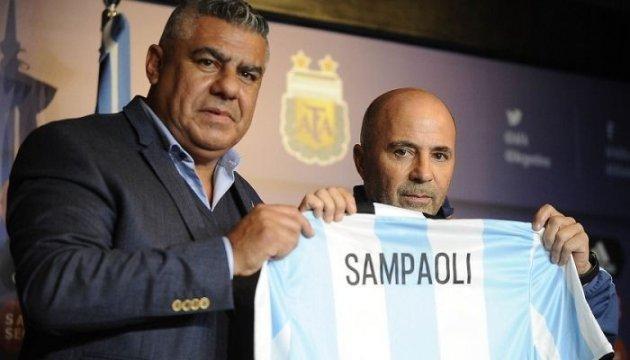 Сампаоли - новый тренер сборной Аргентины