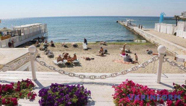 Как одесские пляжи встречали первый день лета