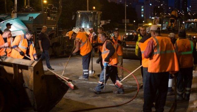 Киев не сбавит темпов ремонта дорог в 2018 - Кличко