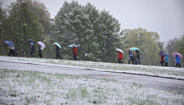 Літо в Москві почалося зі снігу