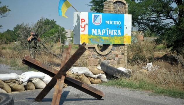 Мар'їнку обстрілювали військові РФ. Затриманий бойовик дав покази