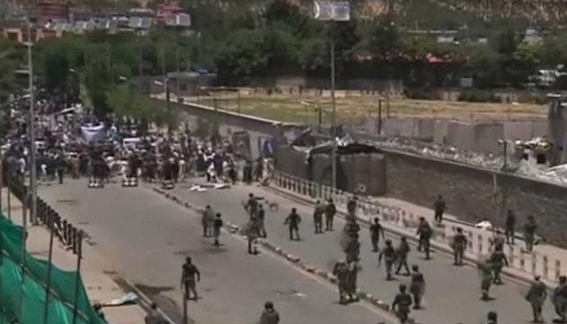 В Кабуле полиция открыла огонь по демонстрантам