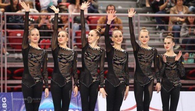 Українські гімнастки виграли «срібло» на World Challenge Cup