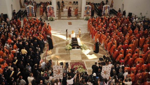 У Патріаршому соборі попрощалися з Блаженнішим Любомиром Гузаром