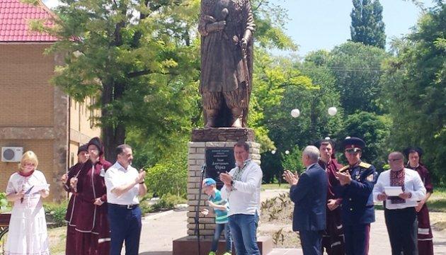 На Херсонщині відкрито пам'ятник Івану Сірку