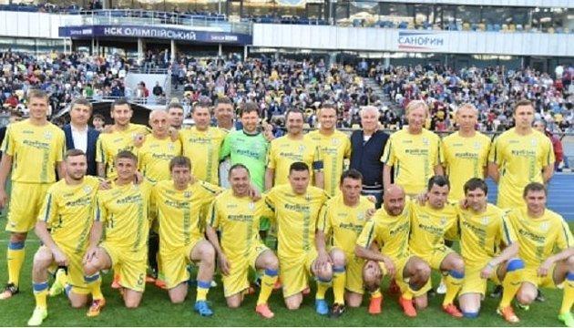Українська збірна ветеранів футболу перемогла збірну Ізраїлю