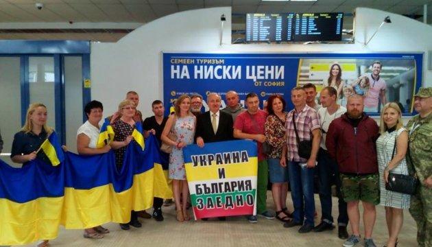 На лікування до Болгарії прибули дев'ятеро українських військових