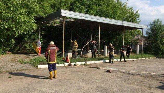 На АЗС у Київській області стався вибух, загинув працівник