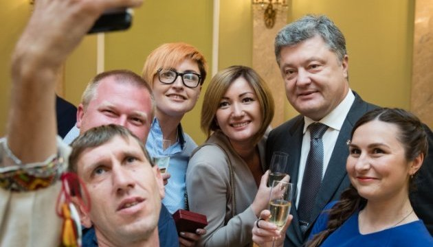 Порошенко: Журналістика в Україні стала четвертою владою