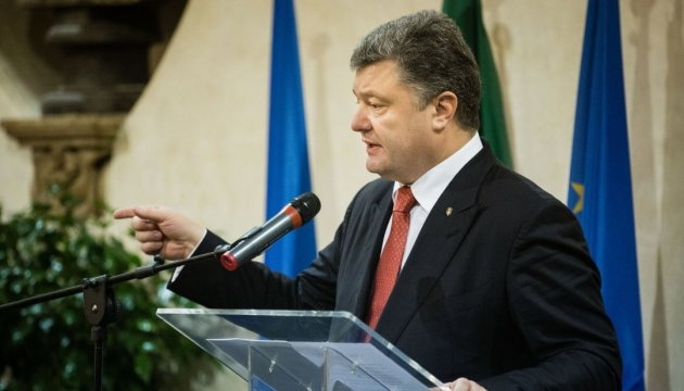 President Poroshenko: We discussed greater involvement of American partners in Normandy format