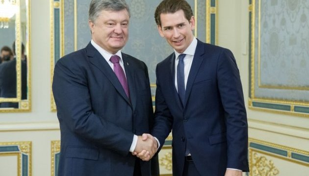 Порошенко розказав Курцу про російську тактику залякування місії ОБСЄ на Донбасі