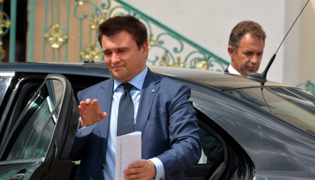 Klimkin to pay a working visit to Italy on June 27-28