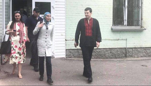 Адама Осмаева выписали из больницы