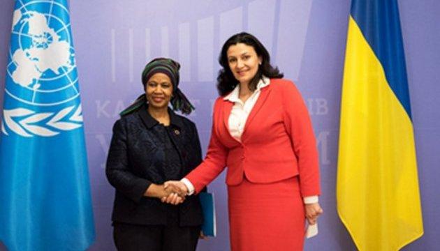 Українці можуть розраховувати на підтримку ООН у питаннях гендерної рівності