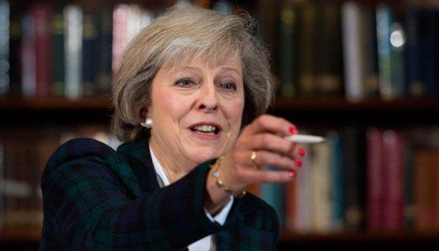 Мей закликає Євросоюз укласти нову угоду про співпрацю у сфері безпеки
