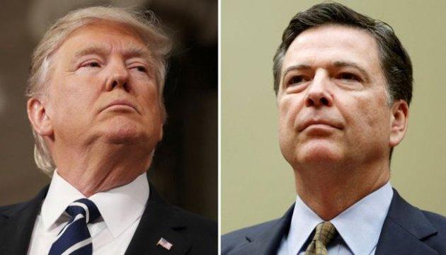 """Трамп будет судиться с экс-главой ФБР — за """"слив"""" их разговоров"""