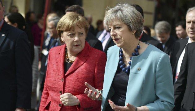 Мей зустрінеться з Меркель для кризових перемовин щодо Brexit