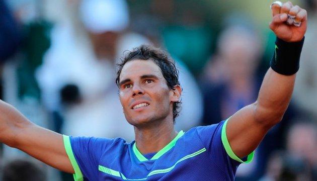 Теніс: Надаль пропонує дворічну систему рейтингу ATP