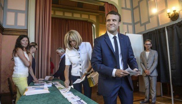 Выборы во Франции: партия Макрона победила в первом туре