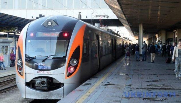 Швидкісний поїзд Київ – Запоріжжя вирушить у додаткові рейси