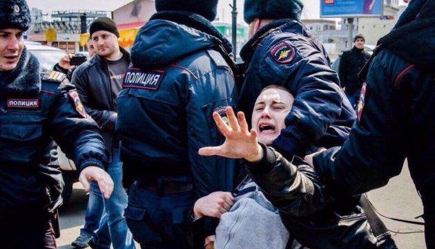 На мітингах опозиції у Росії затримали 11 осіб