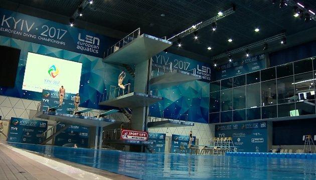 Украинцы выиграли третью медаль на домашнем чемпионате Европы по прыжкам в воду
